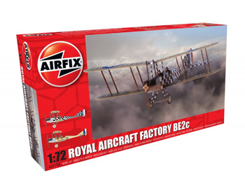 Royal Aircraft Facory BE2c Scout - A02104